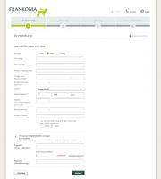 Checkout Neukundenregistrierung